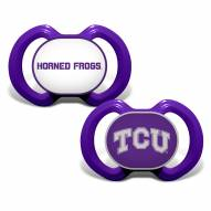 Texas Christian Horned Frogs Baby Pacifier 2-Pack