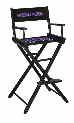Texas Christian Horned Frogs Bar Height Director's Chair