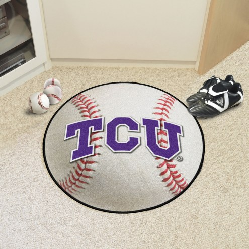 Texas Christian Horned Frogs Baseball Rug