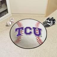Texas Christian Horned Frogs Baseball Rug