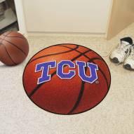 Texas Christian Horned Frogs Basketball Mat