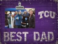 Texas Christian Horned Frogs Best Dad Clip Frame