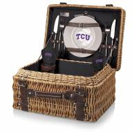 Texas Christian Horned Frogs Black Champion Picnic Basket