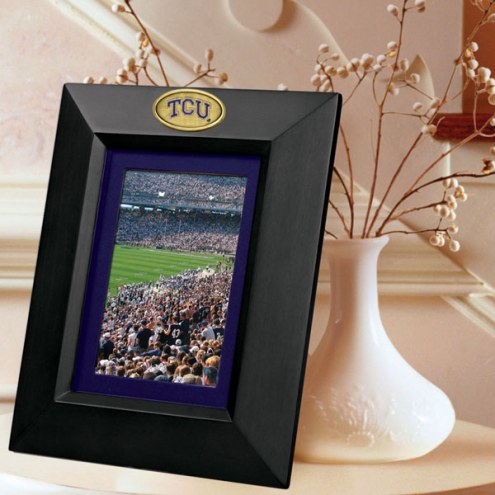 Texas Christian Horned Frogs Black Picture Frame