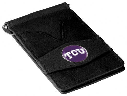 Texas Christian Horned Frogs Black Player's Wallet