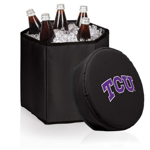 Texas Christian Horned Frogs Bongo Cooler
