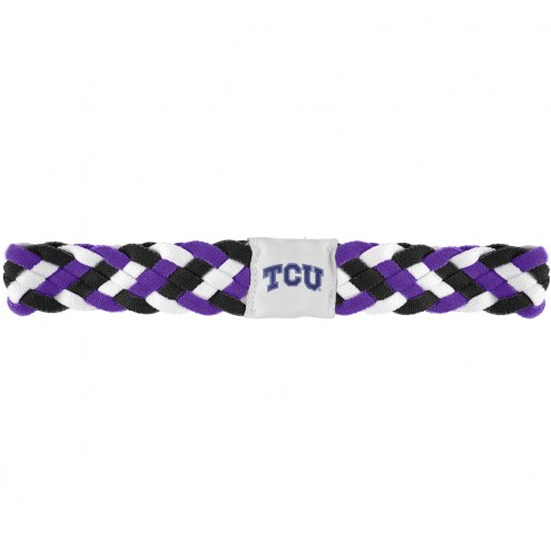 Texas Christian Horned Frogs Braided Head Band