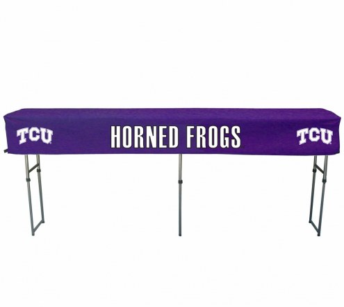 Texas Christian Horned Frogs Buffet Table & Cover