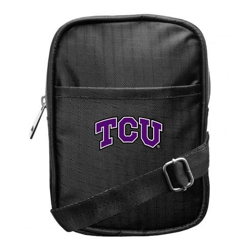 Texas Christian Horned Frogs Camera Crossbody Bag