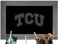 Texas Christian Horned Frogs Chalkboard with Frame