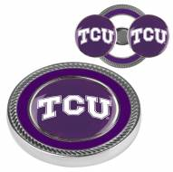 Texas Christian Horned Frogs Challenge Coin with 2 Ball Markers