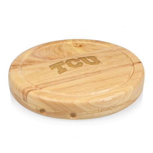 Texas Christian Horned Frogs Circo Cutting Board