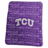 Texas Christian Horned Frogs Classic Fleece Blanket
