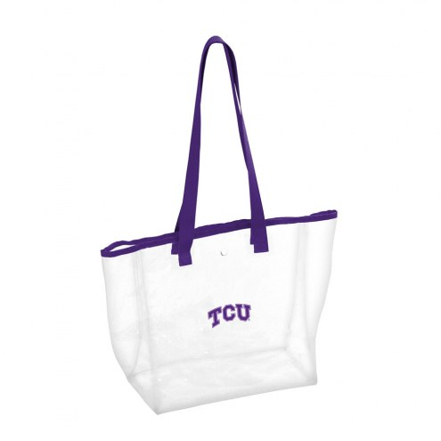 Texas Christian Horned Frogs Clear Stadium Tote