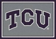 Texas Christian Horned Frogs College Team Spirit Area Rug