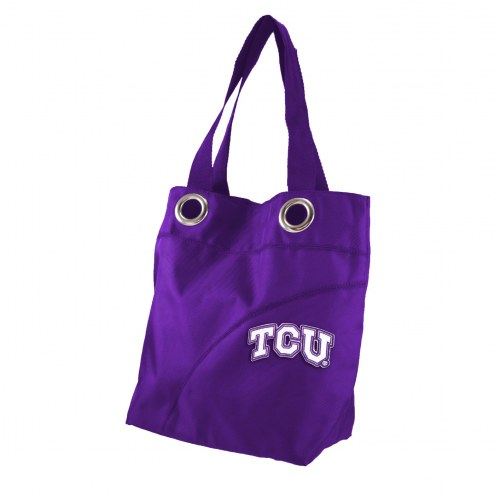 Texas Christian Horned Frogs Color Sheen Tote Bag