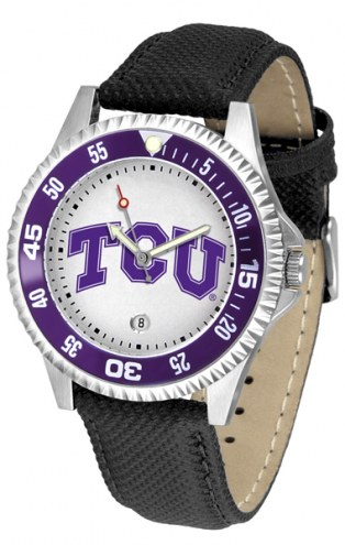 Texas Christian Horned Frogs Competitor Men's Watch