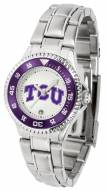 Texas Christian Horned Frogs Competitor Steel Women's Watch