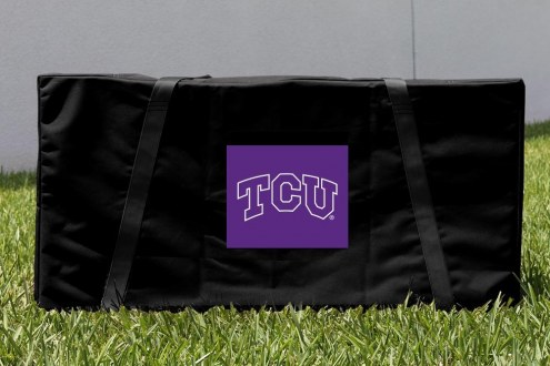 Texas Christian Horned Frogs Cornhole Carrying Case