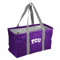 Texas Christian Horned Frogs Crosshatch Picnic Caddy