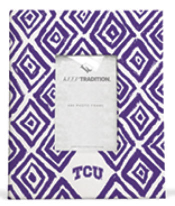 Texas Christian Horned Frogs Diamond Picture Frame