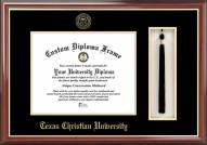 Texas Christian Horned Frogs Diploma Frame & Tassel Box