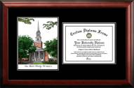 Texas Christian Horned Frogs Diplomate Diploma Frame