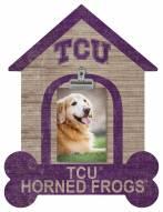 Texas Christian Horned Frogs Dog Bone House Clip Frame