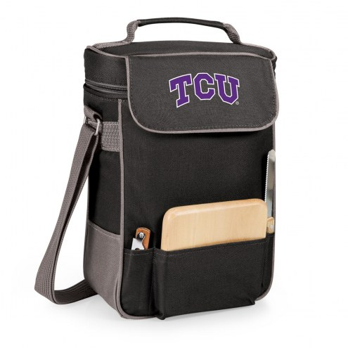 Texas Christian Horned Frogs Duet Insulated Wine Bag