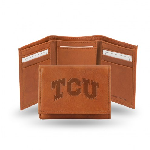 Texas Christian Horned Frogs Embossed Tri-Fold Wallet