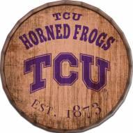 "Texas Christian Horned Frogs Established Date 16"" Barrel Top"