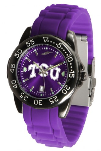 Texas Christian Horned Frogs Fantom Sport Silicone Men's Watch