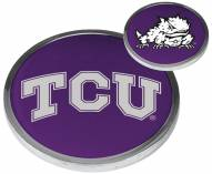 Texas Christian Horned Frogs Flip Coin