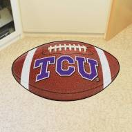 Texas Christian Horned Frogs Football Floor Mat