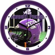 Texas Christian Horned Frogs Football Helmet Wall Clock