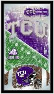 Texas Christian Horned Frogs Football Mirror