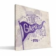 Texas Christian Horned Frogs Gameday Vibes Canvas Print