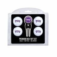 Texas Christian Horned Frogs Golf Ball Gift Set
