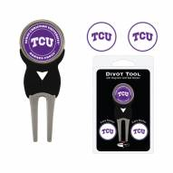 Texas Christian Horned Frogs Golf Divot Tool Pack