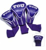 Texas Christian Horned Frogs Golf Headcovers - 3 Pack