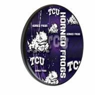Texas Christian Horned Frogs Digitally Printed Wood Sign