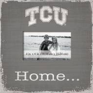 Texas Christian Horned Frogs Home Picture Frame