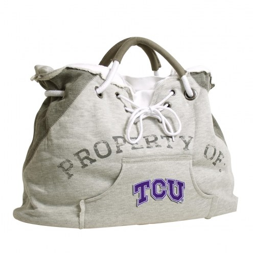 Texas Christian Horned Frogs Hoodie Tote Bag