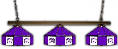 Texas Christian Horned Frogs 3 Shade Pool Table Light
