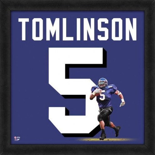 Texas Christian Horned Frogs LaDainian Tomlinson Uniframe Framed Jersey Photo