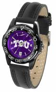 Texas Christian Horned Frogs Ladies Fantom Bandit AnoChrome Watch