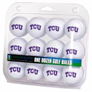 Texas Christian Horned Frogs Dozen Golf Balls