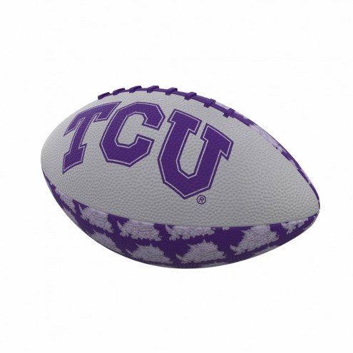 Texas Christian Horned Frogs Mini Rubber Football