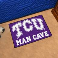 Texas Christian Horned Frogs Man Cave Starter Mat