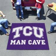 Texas Christian Horned Frogs Man Cave Tailgate Mat